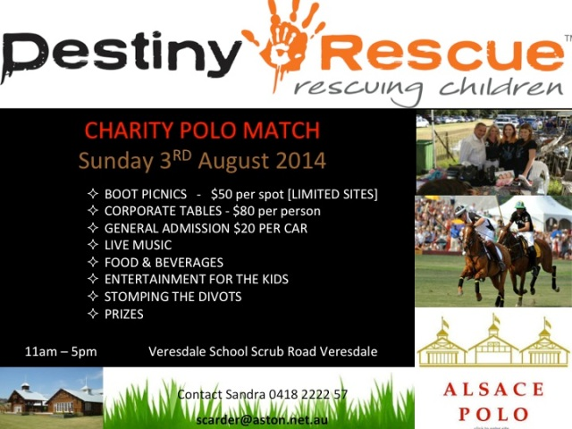 Destiny Rescue Polo Match 2014 V2