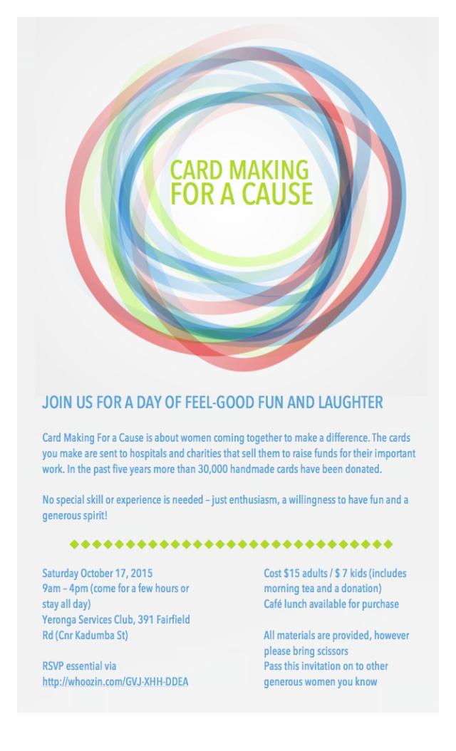 Cards invitation 2015 October